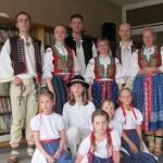 Vystoupení folklórního souboru Morava v LDN