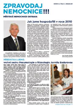Zpravodaj nemocnice: březen 2011