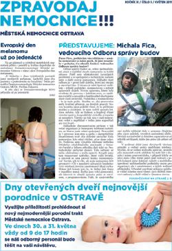 Zpravodaj nemocnice: květen 2011
