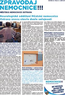 Zpravodaj nemocnice: září 2011