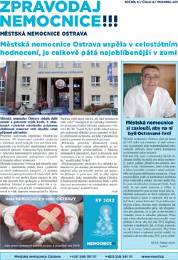Zpravodaj nemocnice: prosinec 2011
