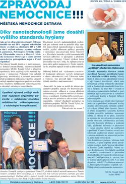 Zpravodaj nemocnice: duben 2013