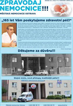 Zpravodaj nemocnice: červenec-srpen 2013