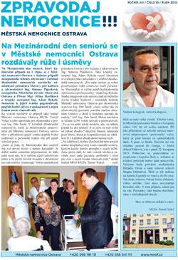 Zpravodaj nemocnice: říjen 2013