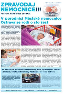 Zpravodaj nemocnice: únor 2014