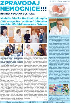 Zpravodaj nemocnice: březen 2014