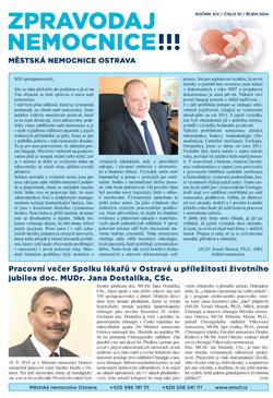 Zpravodaj nemocnice: říjen 2014