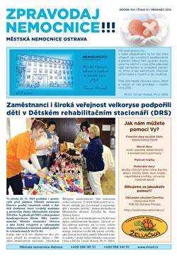 Zpravodaj nemocnice: prosinec 2014