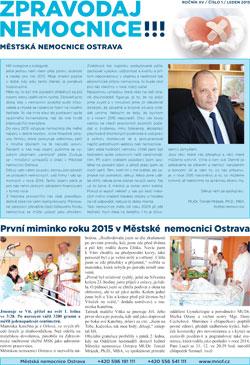Zpravodaj nemocnice: leden 2015