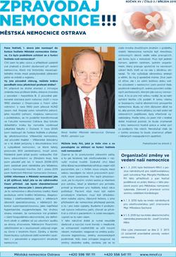 Zpravodaj nemocnice: březen 2015