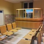 Úrazová ambulance - čekárna