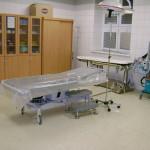 Úrazová ambulance - zákrokový sálek