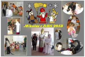Mikulášská nadílka v Dětském rehabilitačním stacionáři