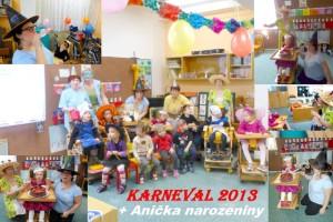 Karneval -oddělení Sluníček - únor 2013
