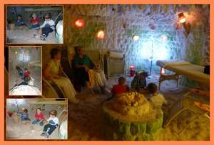 Solná jeskyně -říjen 2012- oddělení Sluníček