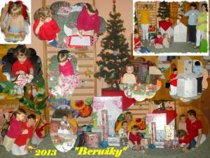 Vánoční dárečky na oddělení Berušek