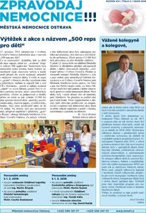 Zpravodaj nemocnice: únor 2016