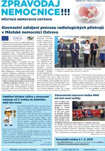 Zpravodaj nemocnice: duben 2016