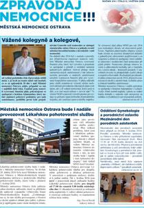 Zpravodaj nemocnice: květen 2016