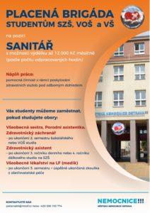 Brigáda: sanitář